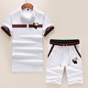 Großhandel SS20 Sommer Kurzarm-Polo neues Sweatshirt Schweiß nass Männer kurze Hülsenklage Art und Weise Turnhalle luxuriöse Stoffe Größe m-3xl Joggen - @ MMN