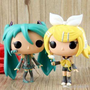 Kawaii Kawaii Nicegift Best Best Funko POP Vocaloid - Hatsune Miku Vinyl Action Figure With Box # 37 39 Gift Doll Toy Free Shipping