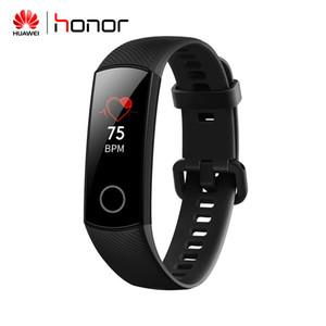Orijinal Huawei onur Band 4 NFC Akıllı bilezik nabız Monitörü Akıllı saat uyku Tracker spor Akıllı kol saati Android iPhone ıOS için