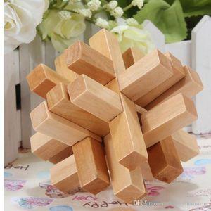 httoystore-Juegos de Puzzles de madera china de juguetes educativos tradicionales para Adultos Niños Inteligencia Puzzle Educación de bloqueo para niños juguetes divertidos