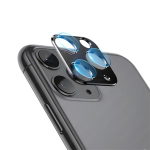 حامي شاشة عدسة الهاتف ل iphone 11 برو ماكس الزجاج المخفف المضادة للخدش المضادة لبصمات الأصابع المصمم تغطية كاملة الرعاية