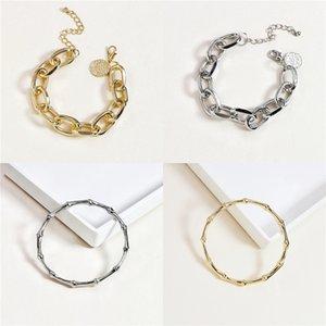 Siamese Ring 18K Goldreizende Gold-Lange-Ringe für Frauen hohle Blatt-Armband-Ring Strass 2 Fingern Kettenring Femme Fashion Jewelry Gi # 630