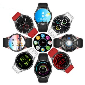 "KW88 GPS Smart Watch Heart Rate Monitor Waterproof WIFI 3G LTE Wristwatch Android MTK6580 1.39"" Wearable Wristwatch For Android iPhone Phone"