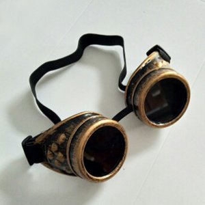 Welding Goggles In Rustic Steampunk Style For Cosplay And Fancy Dress Victorian