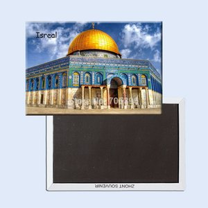 Tourist Refrigerator Magnets 78*54Mm,Dome-Of-The-Rock-Israel Souvenir Fridge Magnets 20747 Fridge Magnets