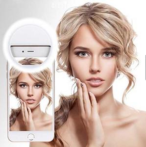 LED Celular selfie Luz clip-on lâmpada portátil LED selfie Anel Luz Flash Light Photo Camera Para Smartphone iphone