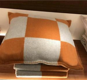 2020 горячая дизайн бренда плед подушки домашнего диван-бросьте подушка шерсть кашемир сек наволочки удобный и легкий диван подушку.