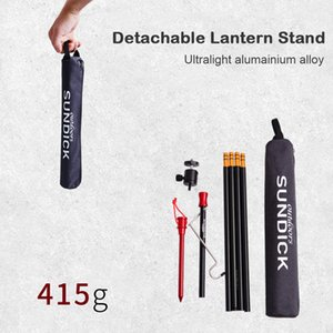 Detachable Lantern Stand Lamp Tripod Camping Lamp Bracket Lamp Holder Portable Camping Accessory