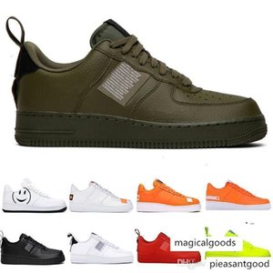 Classic 1 Utility Black Dunk Women Mens Shoes one Sports Air Skateboarding Low Cut Trainers Sneakers Chaussures Size 11 GT9