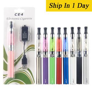 자아 스타터 키트 CE4 atomizer 전자 담배 전자 cig 키트 650mah 900mah 1100mah EGO-T 배터리 물집 케이스 Clearomizer EC045