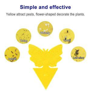 pestcontrol Houseplant 곤충 트랩 곰팡이에 대한 양면 노란 끈적 끈적한 트랩 흰 파리 진딧물 공장에서 직접 판매 도매