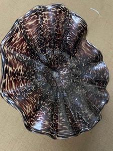 Arte de la decoración 100% soplado Placas de pared decorativo moderno de cristal de Murano Glass Art decoración de la pared Placas Blown placas de vidrio arte de la pared