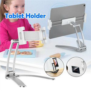 Universal Adjustable Tablet Stand Holder For Samsung Ipad Kindle 4.0 To 10.5 inch Phone Tablet Desktop Aluminum alloy Stand Holder