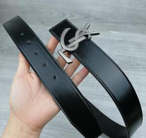 2019 ceintures Hot ceintures de marque de haute qualité ceinture ceintures de chasteté masculine 105cm-125cm haut de la ceinture de cuir des hommes de mode de qualité supérieure 7343