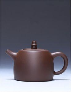 Teiera processo stuccatura viola sabbia han pentola originale miniera viola produttori di fango doni personalizzati su misura in ceramica set da tè artigianale