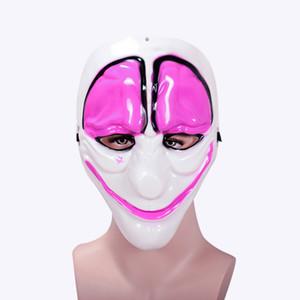 Minch клоун Маски для маскарада Scary клоунов маска Payday 2 Halloween Horrible Mask Новая мода злодей Шутка полнолицевыми