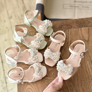 Girls Sequin Shoes Princess White Pink Green Kids Summer Sapatos Glitter Holiday Shoes Wedding Birthday Party Formal Shoes