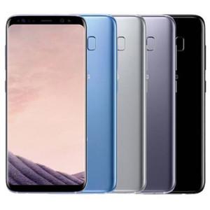 Original Samsung GALAXY S8 Recuperado G950F G950U 5,8 polegadas Octa Núcleo 4GB RAM 64GB ROM 12MP 4G LTE Android Phone Livre DHL Shipping 1PC