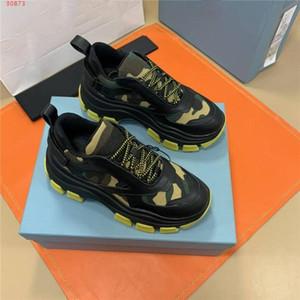 mens clásicas zapatillas de deporte de invierno deletrea color de fondo grueso transparente es la zapatilla de deporte recreativo bajo la parte superior, con el empaquetado genuina caja de zapatos