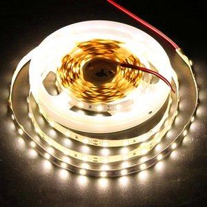 جديد وصول 4040 SMD LED قطاع الخفيفة 120LED / M 60LED / M الخفيفة مرنة الشريط مزدوجة PCB بقيادة شرائط Tape110V 220V الشريط