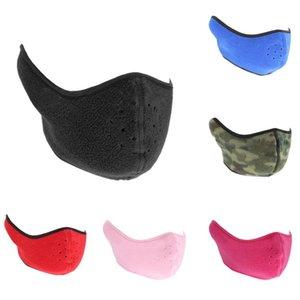 Antipolvere del collo del neoprene Warm maschera di protezione mezza Sport invernale Accessori antivento della bicicletta della bici Snowboard all'aperto maschere SC160