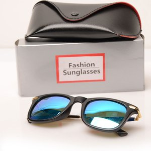Fashion Brand Солнцезащитные очки Ray Boxs Мужские Солнцезащитные Очки Женские Стекло 2148 Солнцезащитные Очки Очки Бренд с Пляж Солнцезащитные Очки Очки Шкафы Desig Drex