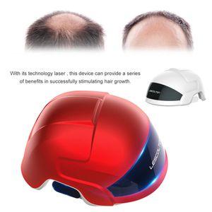 Tragbare Low Level Laser Therapie Haarwachstum Nachwachsen Pflege Verjüngung Helm Gerät 678nm LLLT Diode Cap Anti Haarausfall Behandlung Maschine