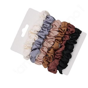Scrunchie Hairbands Hair Tie Women for Hair Accessories Satin Scrunchies Stretch Ponytail Holder Handmade Gift Heandband
