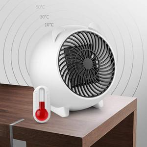 Mini 500W Calentador portátil de invierno del calentador de ventilador personal calentador eléctrico para Home Office cerámica calentadores pequeños J1112
