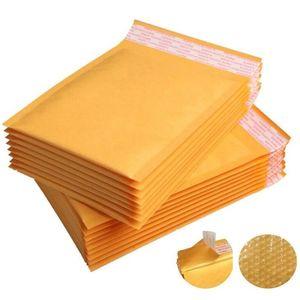Bubble Mailer Enveloppes rembourrées Sacs Sacs d'expédition de courrier électronique Sacs d'expédition Enveloppe Enveloir Courrier Sacs de rangement Mailer