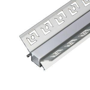 Profilé en aluminium en forme de V et profilé en aluminium de 120 degrés pour profilé en angle et profilé intérieur