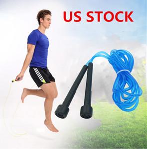 Stati Uniti Stock Dropshipping salto regolabile corda esercizio aerobico Boxe cuscinetto FY7050 velocità fisica delle apparecchiature Jumping Rope Training