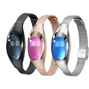 Smartwatch della vigilanza di modo delle donne Z18 Smartwatch con il monitor di frequenza cardiaca del monitor di frequenza cardiaca di pressione sanguigna per IOS Android