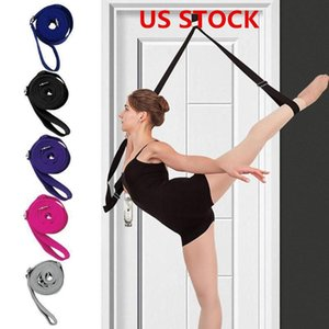 US STOCK, Beinstrecker Ballet Stretch Band für Tanz-Gymnastik-Trainings-Start oder Gym Fuß Stretch Bands Aufhängelasche FY6149