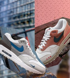 "2020 new arrive Nike air max 1s men and women casual shoes 1""London"" & ""Amsterdam""CV1639-001 CV1638-200"