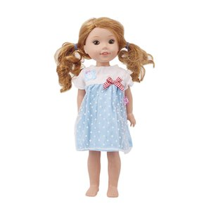 Doll 14.5 Inch Cloths, Dresses Fit 14.5 Inch Wellie Wisher Doll Our Generation Christmas Birthday Girl's Gifts