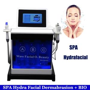 Hydro Water Tratamiento facial para el acné Hydrafacial Burbuja pequeña Dermabrasion Rf Bio Lift Hydra Water Limpieza facial Agua Máquina de exfoliación con diamante