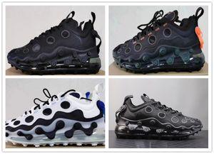 Novos 720s ISPA Running Shoes Kanye Black White Designer Reagir Elemento 720 Mens Mulheres Sports sneaker Trainers Tamanho 36-45