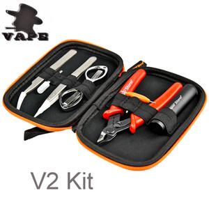 Vape Coil Master Mini V2 Kit DIY Tool Kit Upgraded Coil Master DIY Kit Mini Pro Cotton Bag Mini Build Coils DHL free