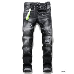 dsquared2 jeans Herren Designer Jeans ds2 brand denim Italy mens 2019 luxury designer hommes Dsquared2 dsquared D2 jean high quality Männer s Hip-Hop-Denim-Rock-Revival neue gießen