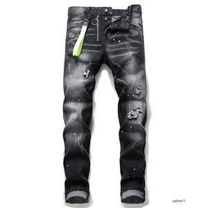 dsquared2 jeans de diseñador para hombre mens luxury designer jeans fashion Italy ds2 denim ripped high quality Dsquared2 brand jeans dsquared de rock hip hop de mezclilla nuevos