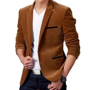 New Arrival Luxury Men Blazer New Spring Fashion Brand High Quality Cotton Slim Fit Men Suit Blazers