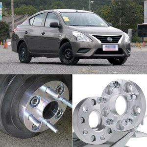 2pcs X100 60.1CB 25mm Hubcenteric Wheel Spacer Adapters For Nissan Sunny 2014-18