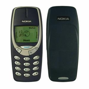 Reformado original Nokia 3310 3G WCDMA GSM de 2G 2,4 pulgadas de doble cámara de 2MP abierto Sim del teléfono celular