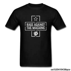RAGE AGAINST 기계 STAR 주먹 T 셔츠 랩 메탈 얼터너티브 락 남성 여성 T 셔츠 S-XXL