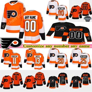 Benutzerdefinierte Männer Kinder Womans Philadelphia Flyers Trikots 79 Carter Hart Hayes Giroux Lindros Konecny benutzerdefinierte beliebige Anzahl beliebiger Name Hockey Jersey