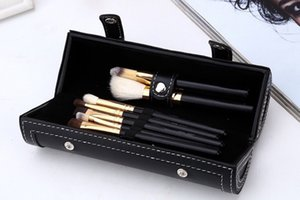 M marca Pennelli trucco set cosmetici spazzola 9 pezzi kit Manico in legno trucco pennello strumenti Pennelli Contorno polvere DHL spedizione gratuita Calda