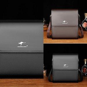 Kangaroo Men's messenger Shoulder shoulder bag bag business briefcase casual men's style