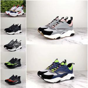 2019 nuevo caliente de alta calidad B22 zapatos deportivos de los hombres zapatos casuales moda mujer diseñador francés marca zapatos casuales 36-46 con caja