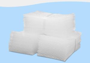 100 قطعة / الوحدة وسادة الهواء ختم فقاعة كيس فقاعة المغلفات التفاف أكياس الحقائب التغليف pe ميلر التعبئة
